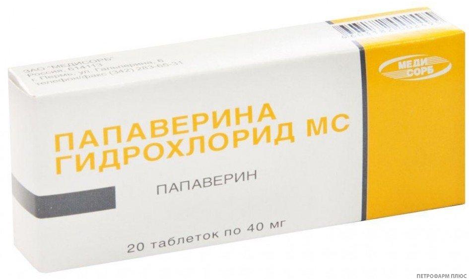 Папаверин от головной боли при беременности