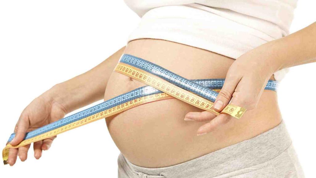 Живот стал меньше при беременности