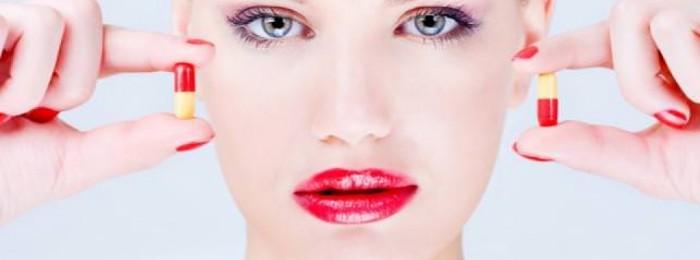 Таблетки с женскими гормонами для красоты